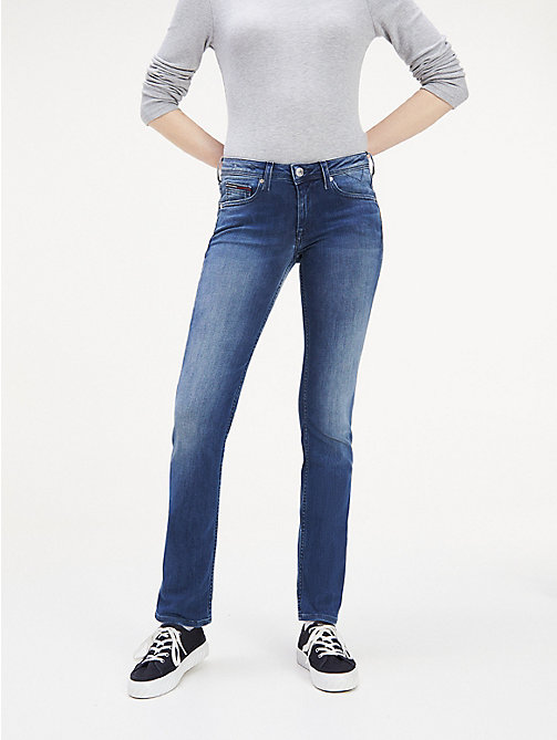 TOMMY JEANS Medium Rise Stretch Jeans - NICEVILLE MID STRETCH - TOMMY JEANS Straight Fit Jeans - main image