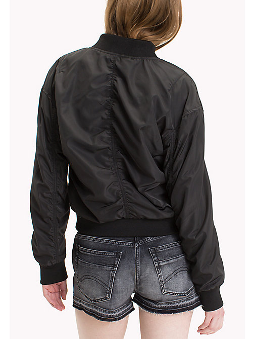 TOMMY JEANS Polyester Classic Bomber - TOMMY BLACK - TOMMY JEANS Coats & Jackets - detail image 1