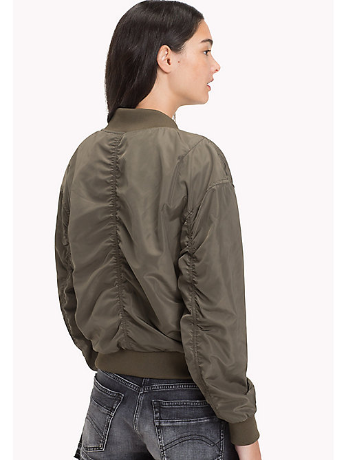 TOMMY JEANS Polyester Classic Bomber - GRAPE LEAF - TOMMY JEANS Women - detail image 1