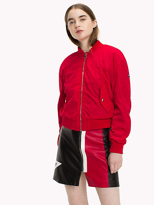 TOMMY JEANS Polyester Classic Bomber - SKI PATROL - TOMMY JEANS Coats & Jackets - main image