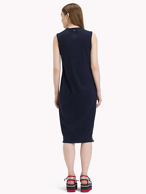 TOMMY JEANS Logo Tank Dress - BLACK IRIS - TOMMY JEANS Midi - detail image 1
