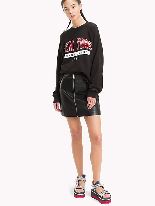 TOMMY JEANS New York Sweatshirt - TOMMY BLACK - TOMMY JEANS Clothing - main image