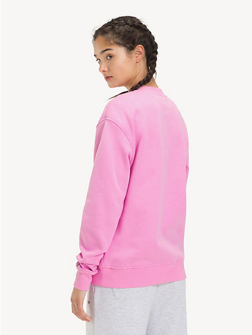 TOMMY JEANS Tommy Classics Crew Neck Sweatshirt - LILAC CHIFFON - TOMMY JEANS Tommy Classics - detail image 1