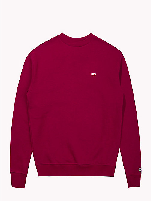 TOMMY JEANS Tommy Classics Sweatshirt - RUMBA RED - TOMMY JEANS Sweatshirts & Kapuzenpullover - main image 1