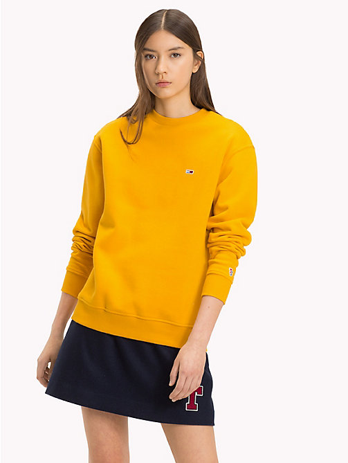 TOMMY JEANS Sweat Tommy Classics avec monogramme - MANGO MOJITO - TOMMY JEANS Tommy Classics - image principale