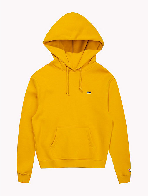 TOMMY JEANS Tommy Classics Monogram Hoody - MANGO MOJITO - TOMMY JEANS Hoodies - detail image 1