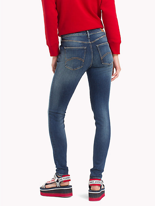TOMMY JEANS Mid Rise Skinny Fit Jeans - DYNAMIC EVO MID BLUE STR - TOMMY JEANS Skinny Jeans - detail image 1