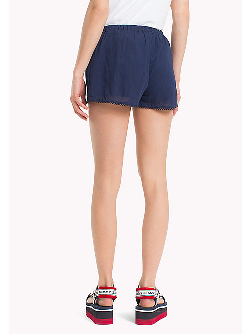TOMMY JEANS Relaxed Fit Summer Shorts - BLACK IRIS - TOMMY JEANS Trousers & Skirts - detail image 1