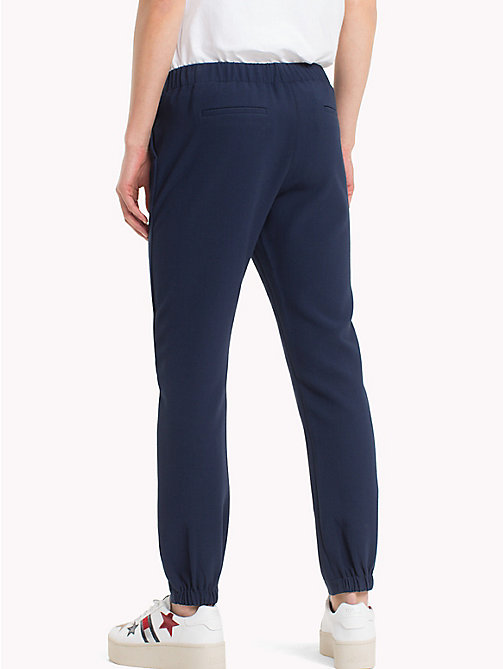 TOMMY JEANS Smart Cropped Trousers - BLACK IRIS - TOMMY JEANS Trousers & Skirts - detail image 1