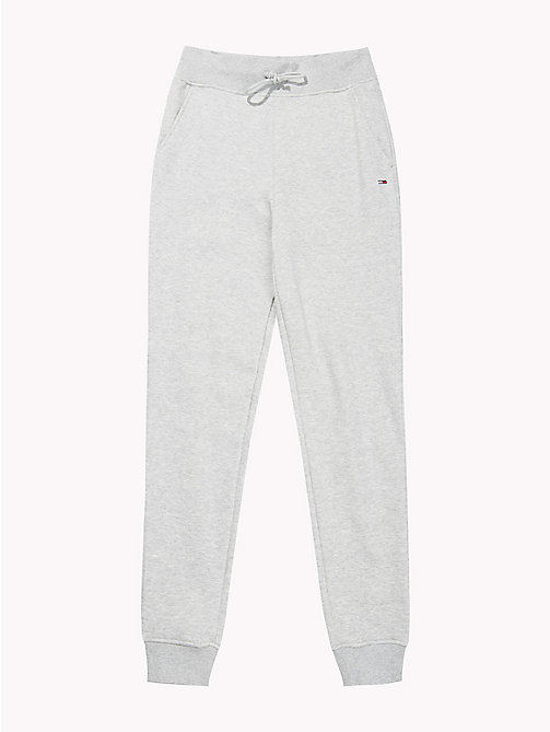 TOMMY JEANS Straight Leg Fit Jogginghose - LT GREY HTR - TOMMY JEANS Tommy Classics - main image 1