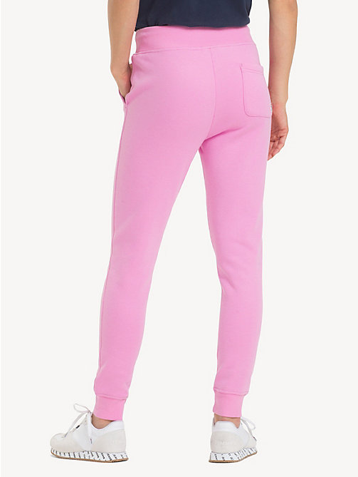 TOMMY JEANS Tommy Classics Monogram Joggers - LILAC CHIFFON - TOMMY JEANS Trousers & Skirts - detail image 1
