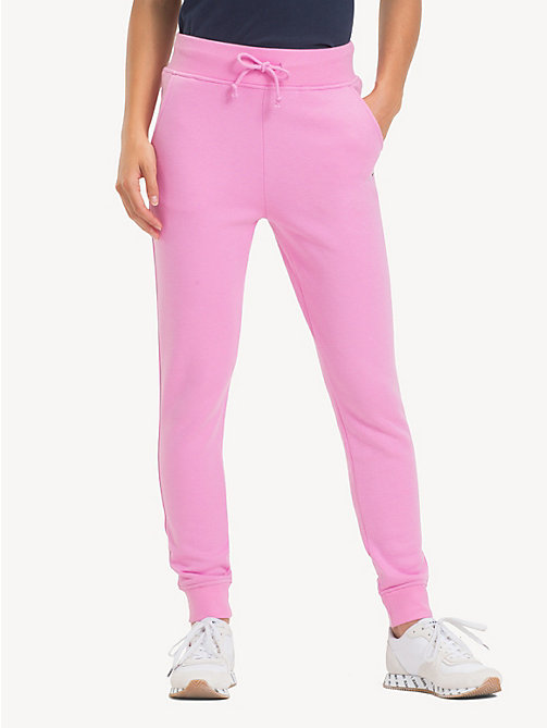 TOMMY JEANS Tommy Classics Monogram Joggers - LILAC CHIFFON - TOMMY JEANS Tommy Classics - main image