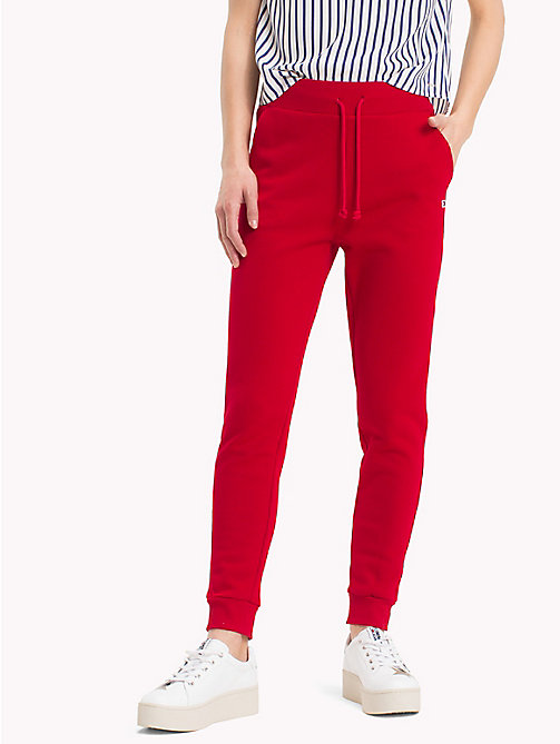 TOMMY JEANS Straight Leg Sweatpants - SAMBA - TOMMY JEANS Tommy Classics - main image