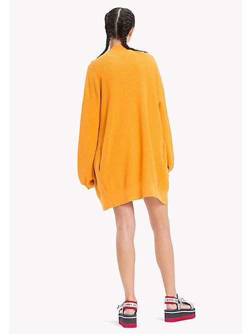 TOMMY JEANS Bell Sleeve Cardigan - BUTTERSCOTCH - TOMMY JEANS Knitwear - detail image 1