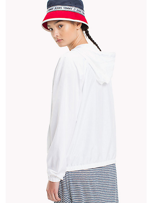 TOMMY JEANS Lightweight Summer Popover Jacket - BRIGHT WHITE - TOMMY JEANS Women - detail image 1