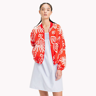 TOMMY JEANS  - NAIVE FLOWER PRINT/POPPY RED -   - imagen principal