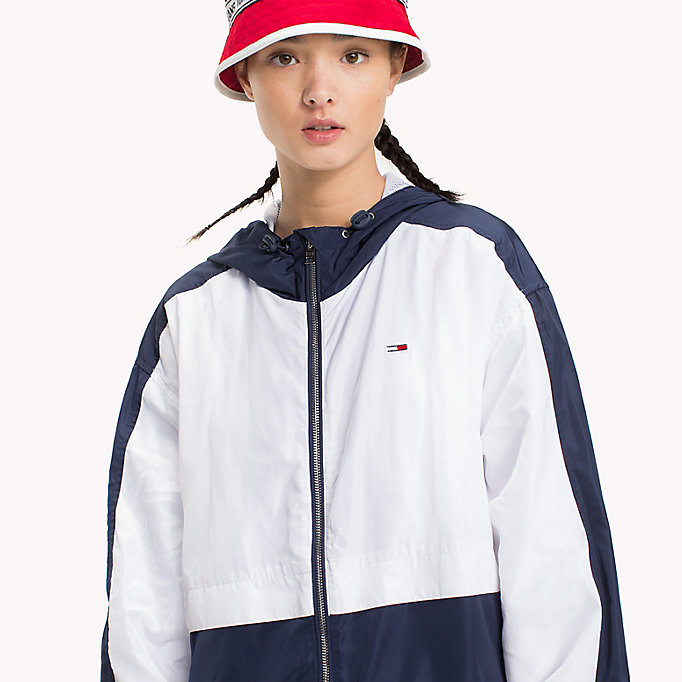 TOMMY JEANS Lightweight Jacket - BANANA / BRIGHT WHITE - TOMMY JEANS Women - detail image 4