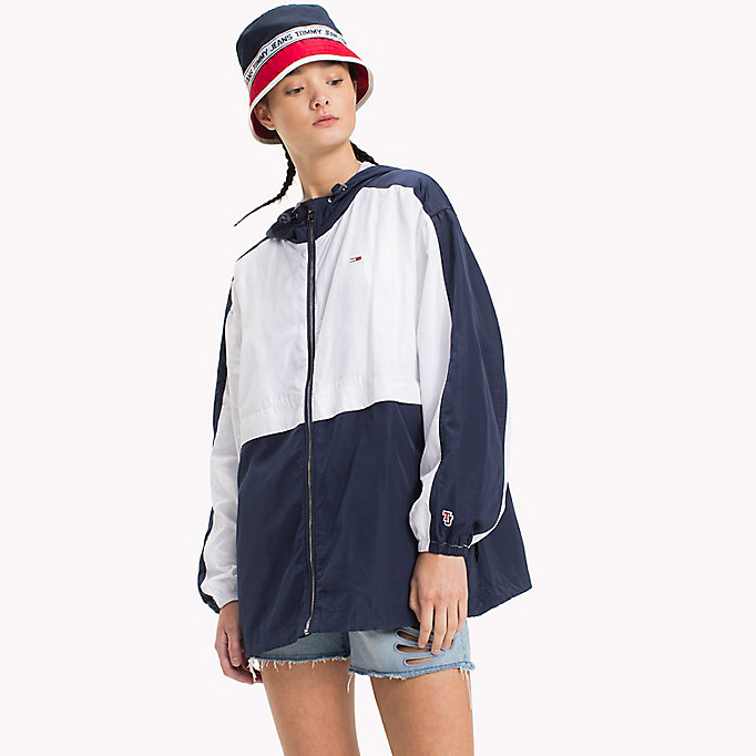 TOMMY JEANS Lightweight Jacket - BANANA / BRIGHT WHITE - TOMMY JEANS Women - main image