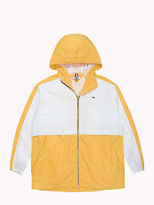 TOMMY JEANS Легкая куртка - BANANA / BRIGHT WHITE - TOMMY JEANS Tommy Classics - подробное изображение 1