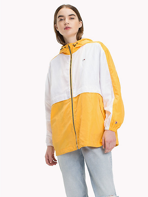 TOMMY JEANS Легкая куртка - BANANA / BRIGHT WHITE - TOMMY JEANS Tommy Classics - главное изображение