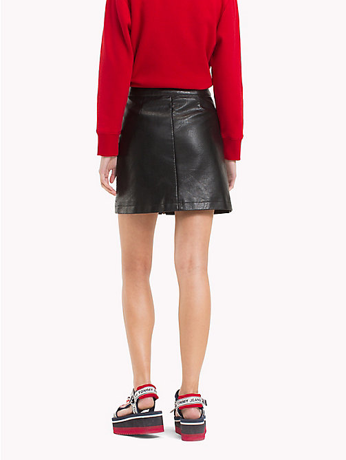 TOMMY JEANS Zip-Front Skirt - TOMMY BLACK - TOMMY JEANS Trousers & Skirts - detail image 1