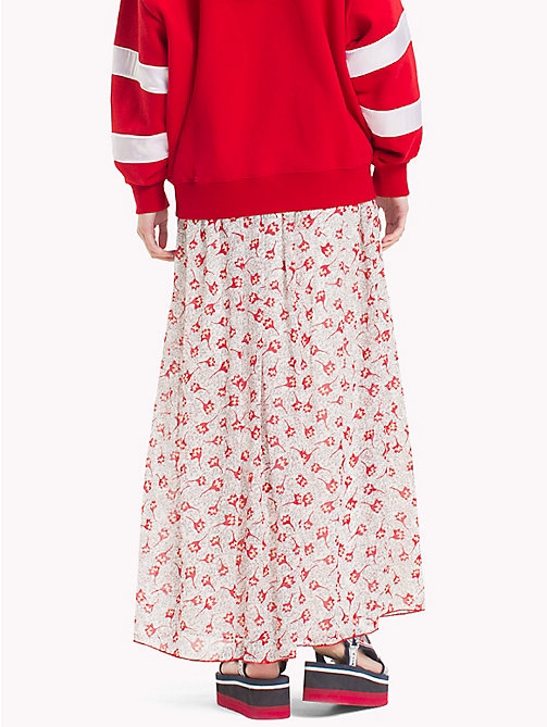 TOMMY JEANS Floral Maxiskirt - SCRIBBLE FLORAL PRINT - TOMMY JEANS Trousers & Skirts - detail image 1