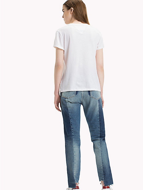 TOMMY JEANS T-Shirt mit Rundhalsausschnitt - BRIGHT WHITE - TOMMY JEANS Tops - main image 1