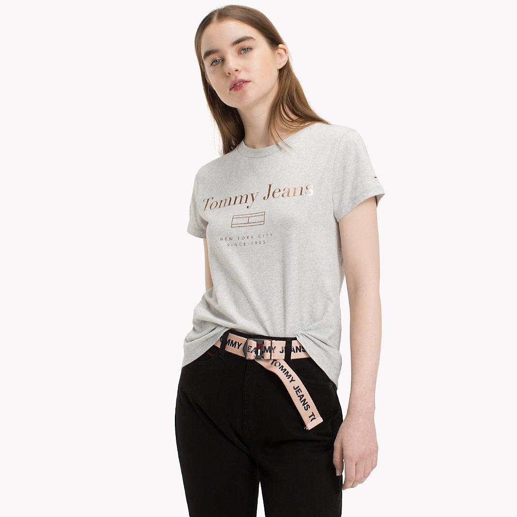 Tommy Hilfiger - Metallic Logo T-Shirt - 1