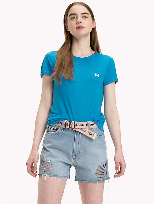 TOMMY JEANS Tommy Jeans Fitted T-Shirt - BLITHE - TOMMY JEANS Tops - main image