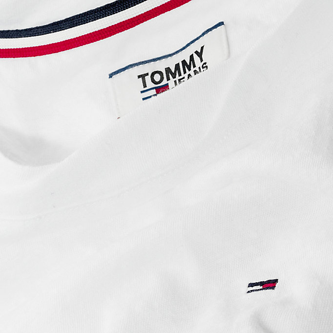 TOMMY JEANS Crew Neck T-Shirt - BLACK IRIS - TOMMY JEANS Women - detail image 3