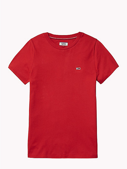 TOMMY JEANS Classic Boyfriend Fit T-Shirt - SAMBA - TOMMY JEANS Test 7 - Women - detail image 1