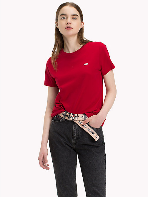 TOMMY JEANS Classic Boyfriend Fit T-Shirt - SAMBA - TOMMY JEANS Test 7 - Women - main image