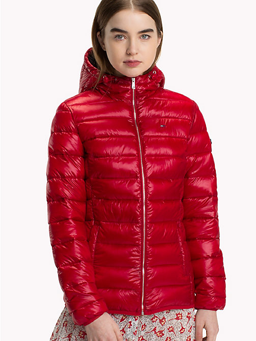 TOMMY JEANS Quilted Hooded Jacket - SAMBA - TOMMY JEANS Coats & Jackets - main image