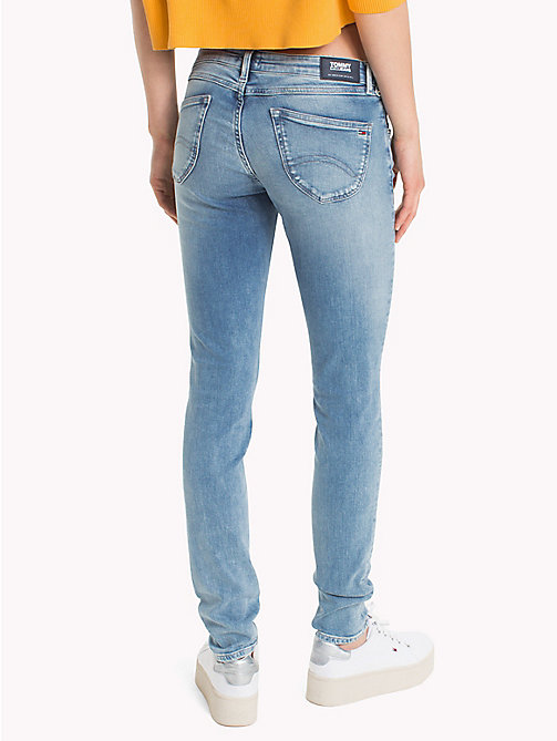TOMMY JEANS Low Rise Faded Jeans - FRASER LIGHT BLUE STR - TOMMY JEANS Jeans - detail image 1