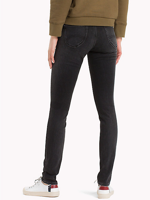 TOMMY JEANS Low Rise Stretch Skinny Jeans - PERKINS BLACK STRETCH - TOMMY JEANS Jeans - detail image 1
