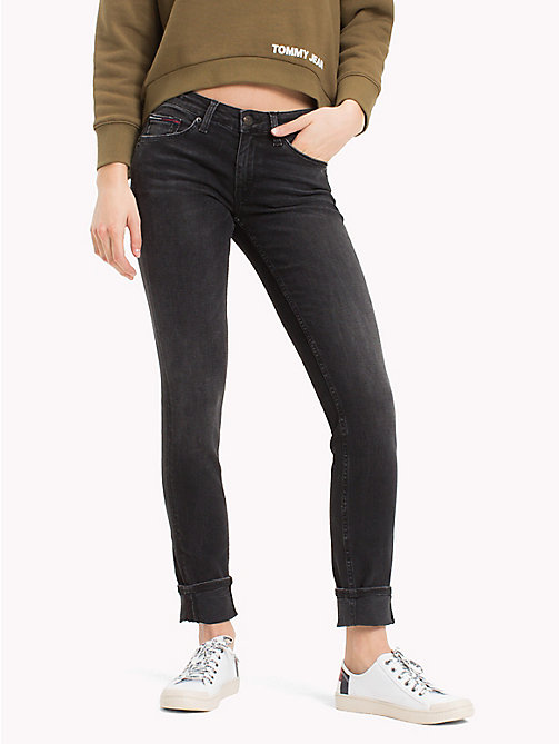 TOMMY JEANS Low Rise Stretch Skinny Jeans - PERKINS BLACK STRETCH - TOMMY JEANS Jeans - main image