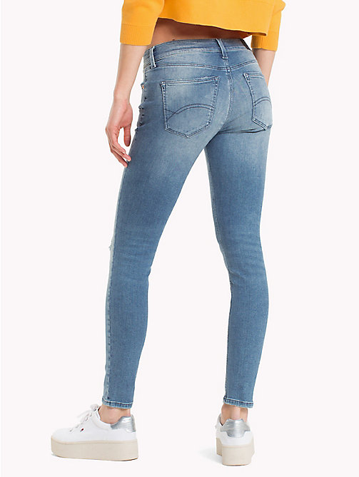 TOMMY JEANS Cropped Skinny Fit Jeans - TENNY LIGHT BLUE STRETCH - TOMMY JEANS Jeans - detail image 1