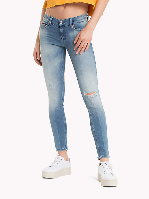TOMMY JEANS Cropped Skinny Fit Jeans - TENNY LIGHT BLUE STRETCH - TOMMY JEANS Jeans - main image