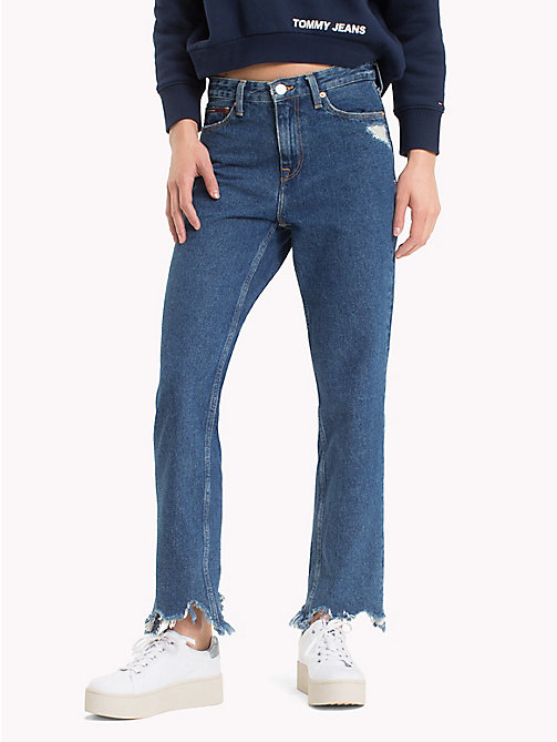 TOMMY JEANS Distressed Rigid Denim Jeans - OLLIE MID RIGID - TOMMY JEANS Festival Season - main image