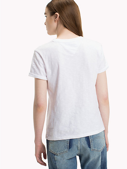 TOMMY JEANS Футболка Tommy Jeans 1985 - BRIGHT WHITE - TOMMY JEANS Топы - подробное изображение 1
