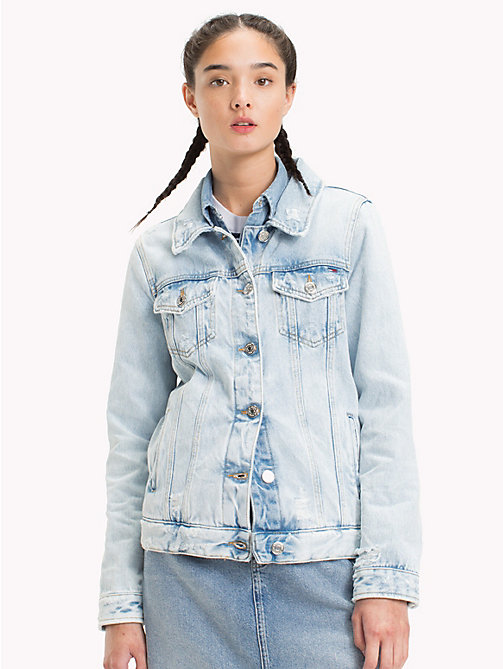 TOMMY JEANS Buttoned Denim Jacket - BOURBON LIGHT RIGID - TOMMY JEANS Test 12 - main image
