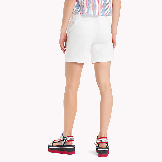TOMMY JEANS Shorts chino regular fit - POPPY RED - TOMMY JEANS Donne - dettaglio immagine 1