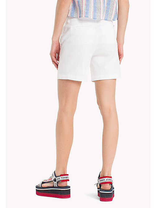 TOMMY JEANS Regular Fit Chino Shorts - BRIGHT WHITE - TOMMY JEANS Trousers & Skirts - detail image 1