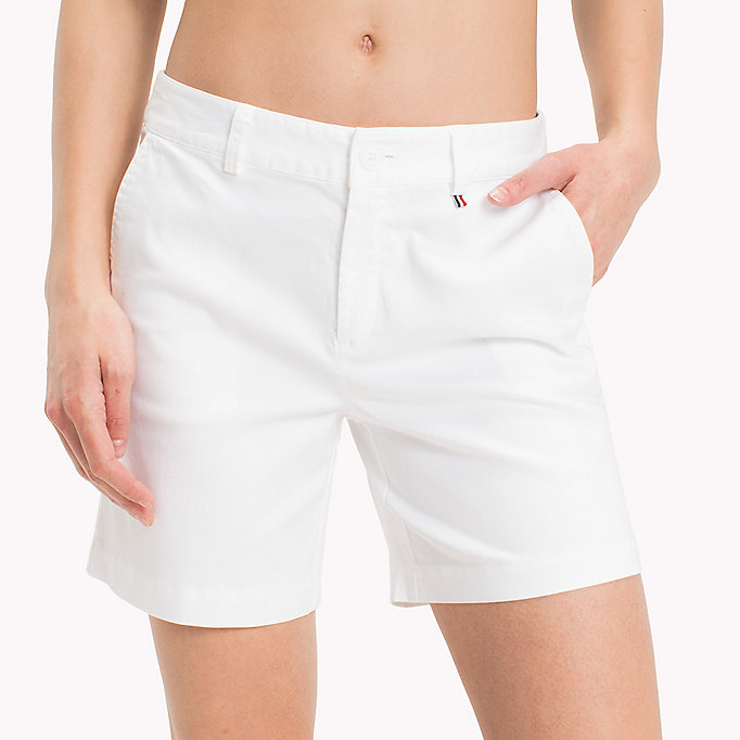 TOMMY JEANS Shorts chino regular fit - POPPY RED - TOMMY JEANS Donne - dettaglio immagine 4