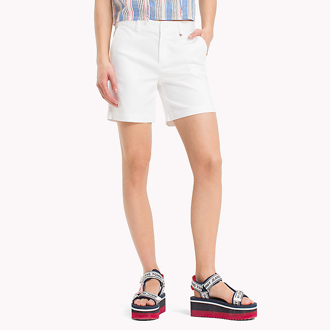 TOMMY JEANS Shorts chino regular fit - POPPY RED - TOMMY JEANS Donne - immagine principale