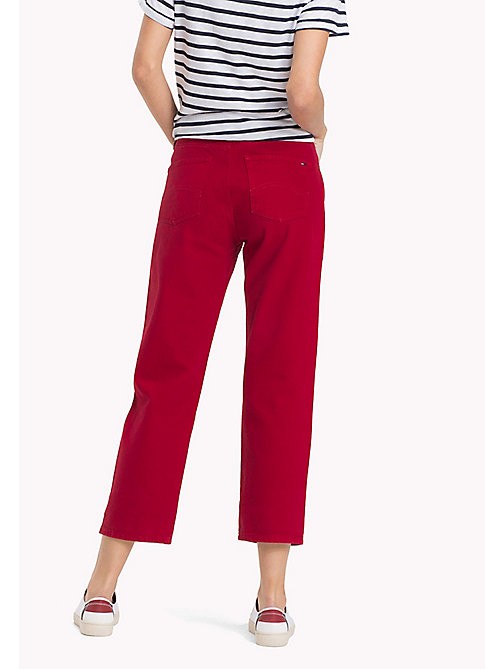 TOMMY JEANS High Rise Straight Fit Jeans - SAMBA RIGID - TOMMY JEANS Jeans - detail image 1