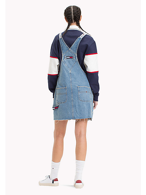 TOMMY JEANS 90s Dungaree Dress - LIGHT DENIM BLUE - TOMMY JEANS Capsule - detail image 1