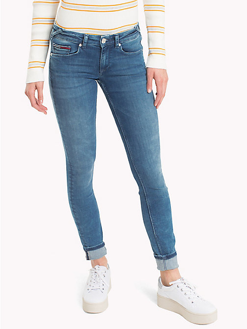 TOMMY JEANS Skinny Fit Jeans mit dynamischem Stretch - DYNAMIC EVO STONE LIGHT BLUE STR - TOMMY JEANS Jeans - main image