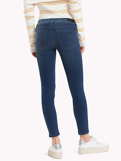 TOMMY JEANS Medium Rise Skinny Jeans - DYNAMIC EVO STONE MID  BLUE STR - TOMMY JEANS Skinny Jeans - detail image 1