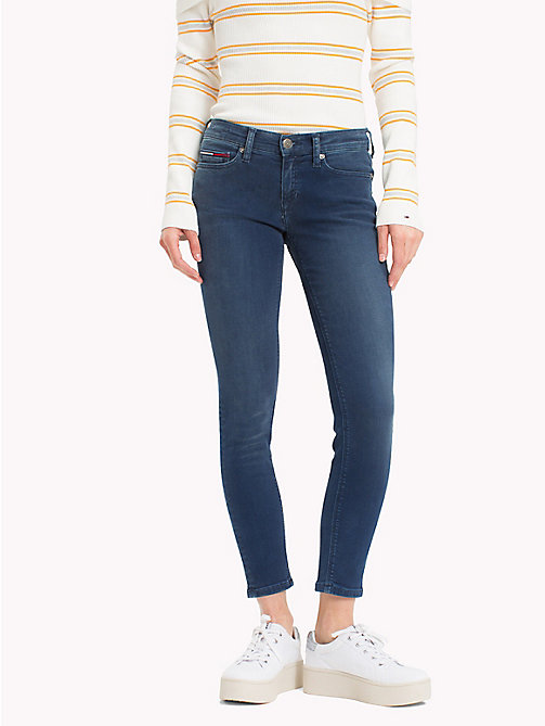 TOMMY JEANS Medium Rise Skinny Jeans - DYNAMIC EVO STONE MID  BLUE STR - TOMMY JEANS Skinny Jeans - main image